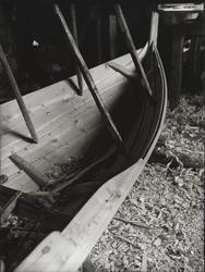 Færing under bygging hos Joh. Hårstad, Stordalen ved Åfjorde
