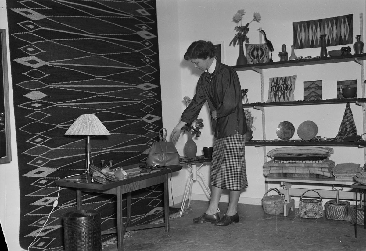 Bibbi Lindgren-Widmark, Uppsala 1954