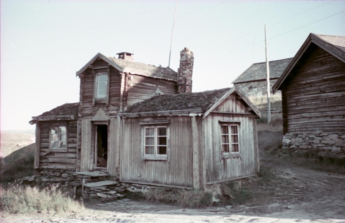 Fra den gamle bebyggelsen på Røros.