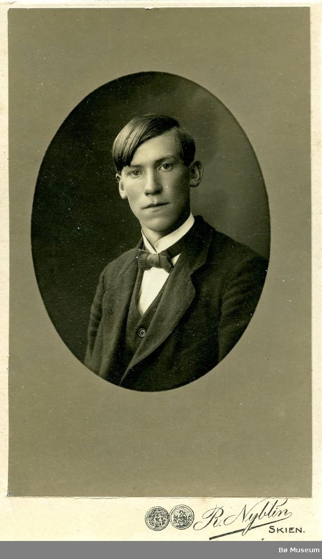 Portrett av ein ukjent mann