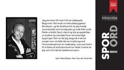 SPOR I ORD Levi Henriksen (Foto/Photo)