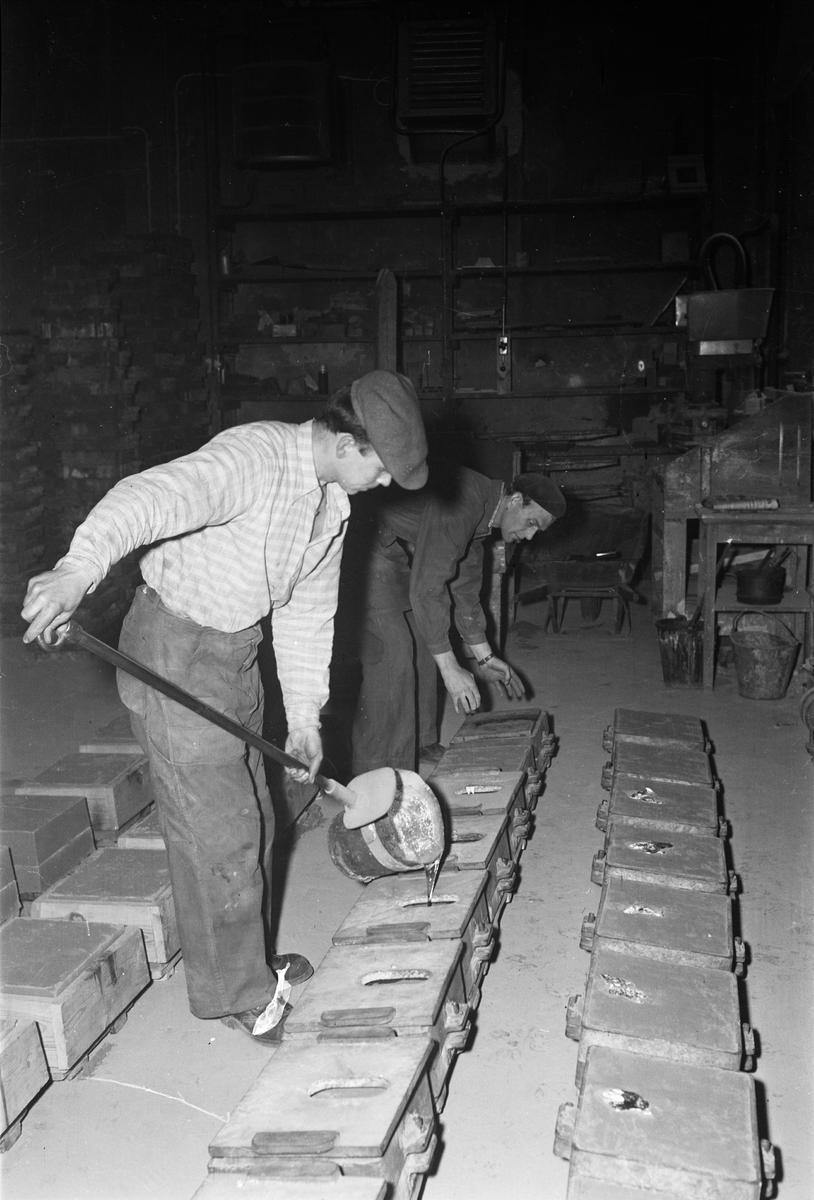 Arbetare på Vattholma bruk, Vattholma 1955