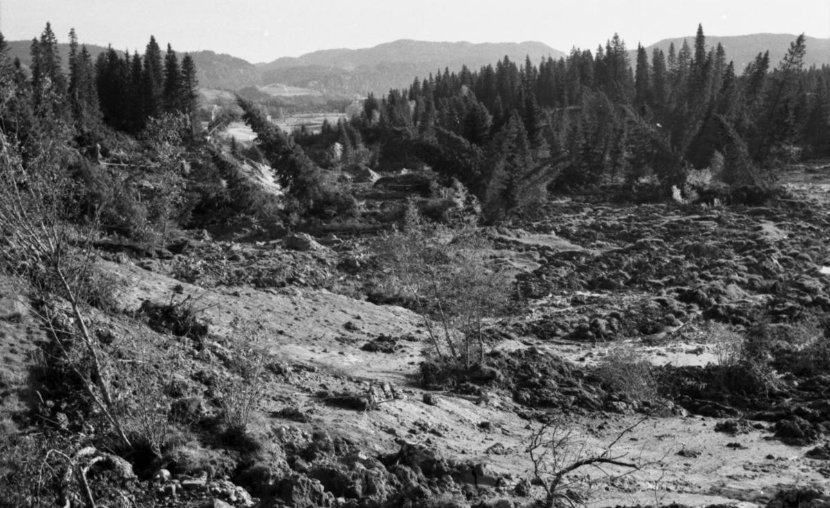 Stjørdal, jordskred september 1962