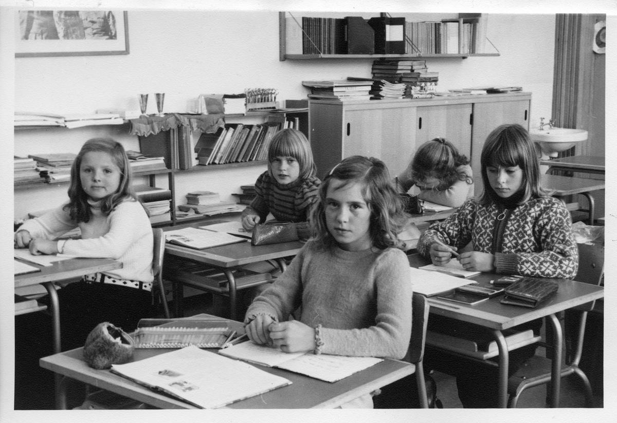 Lagård skole, klasse 5A oktober 1973
