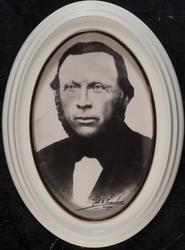 Portrettbilde av Chrisoffer Bølgen, f.  på Bølgen gård i Hau