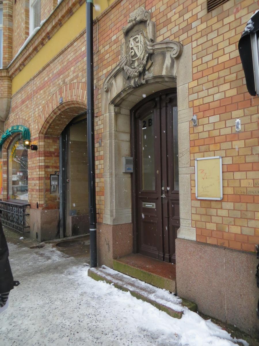 Exteriör från Stortorget i Nässjö
