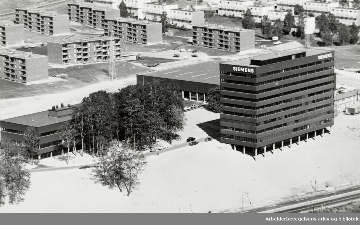 Linderud. Siemens. Februar 1973