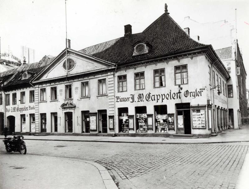Collettgården, 1924. (Foto/Photo)