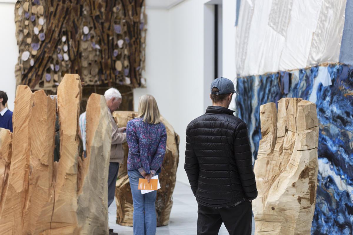 Lorck Schive Kunstpris 2019 / Gunvor Nervold Antonsen. Foto: Nadia Caroline Andersen / TKM.
