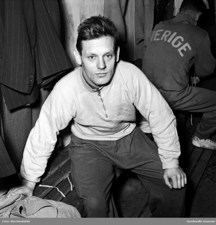 Robert Johansson, brottare i Sundsvalls AIK.
