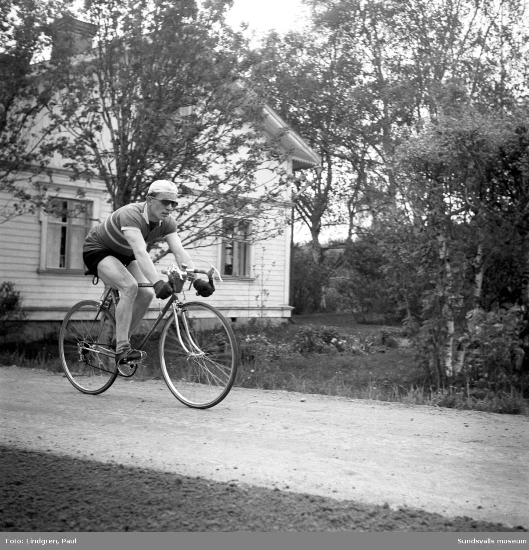 Hjärnloppet på cykel.