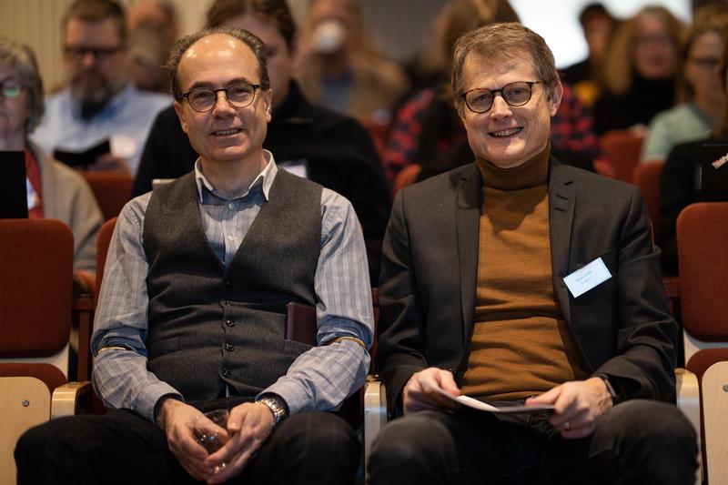 Bilde av Nils Weinander og Hans Höök. Bilde tatt av Ulf Bodin.