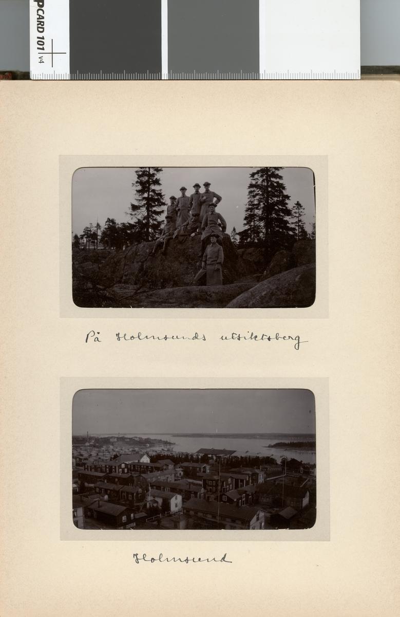 Vy över Holmsund.