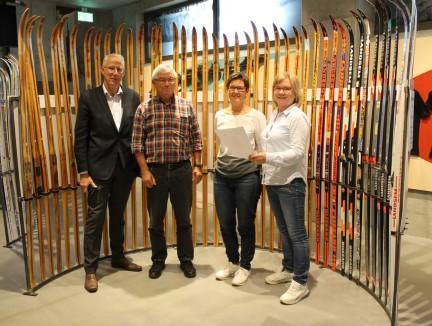Fra venstre: Ola T. Heggem, Johan Landsem, Inger Grøseth Landsem, Kari-Elin B. Løfaldli (Foto/Photo)