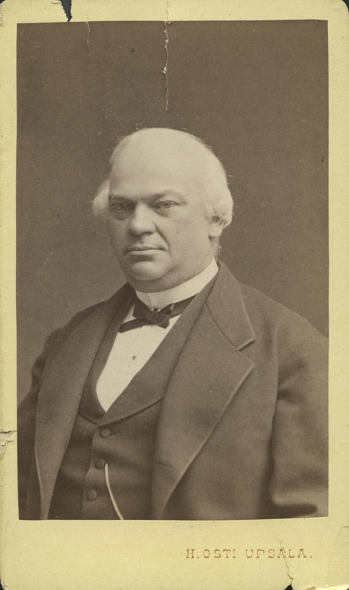 Professor C. Y. Sahlin. Inspektor i Gästrike- Hälsinge nation.