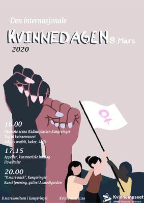 8. mars-plakat 2020