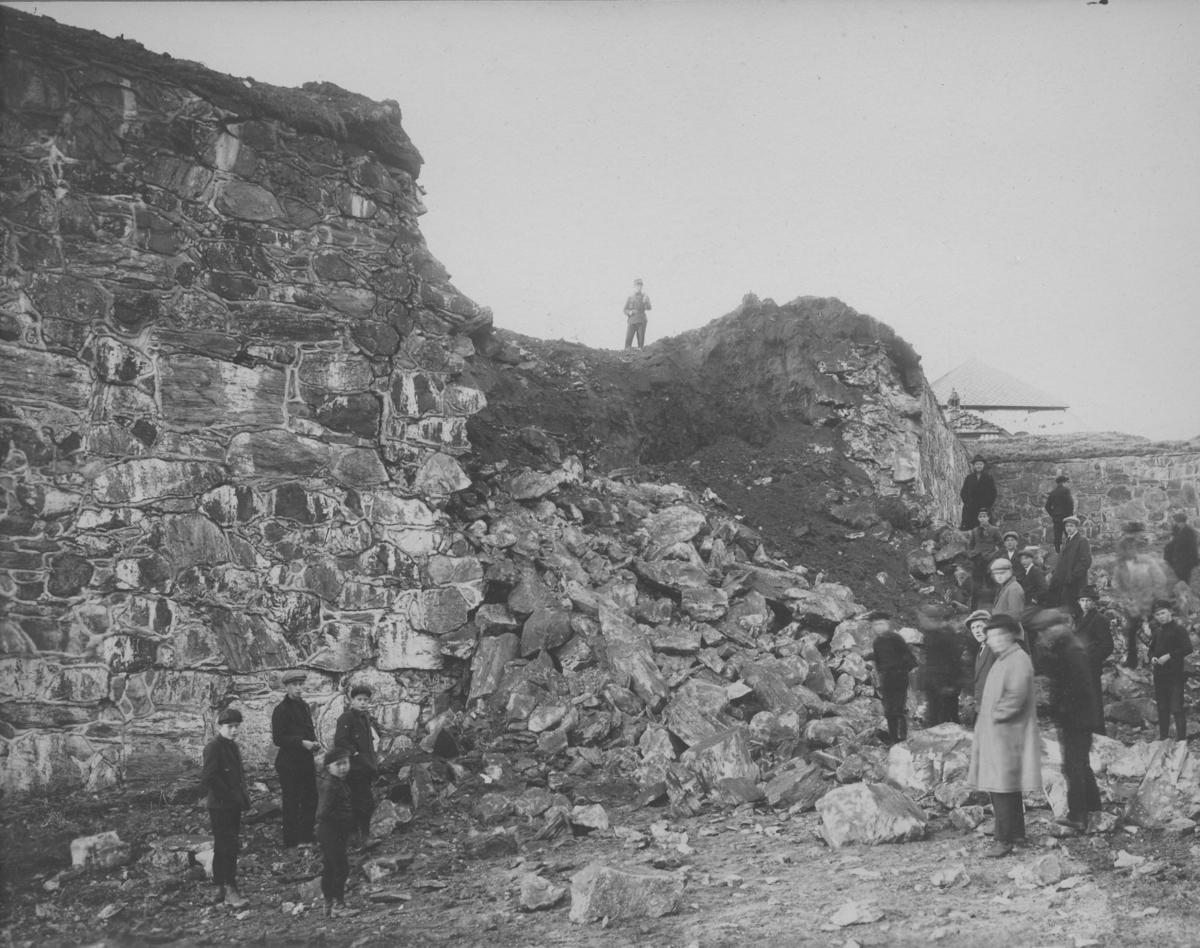 Ulykke ved Kristiansten Festning, 1923