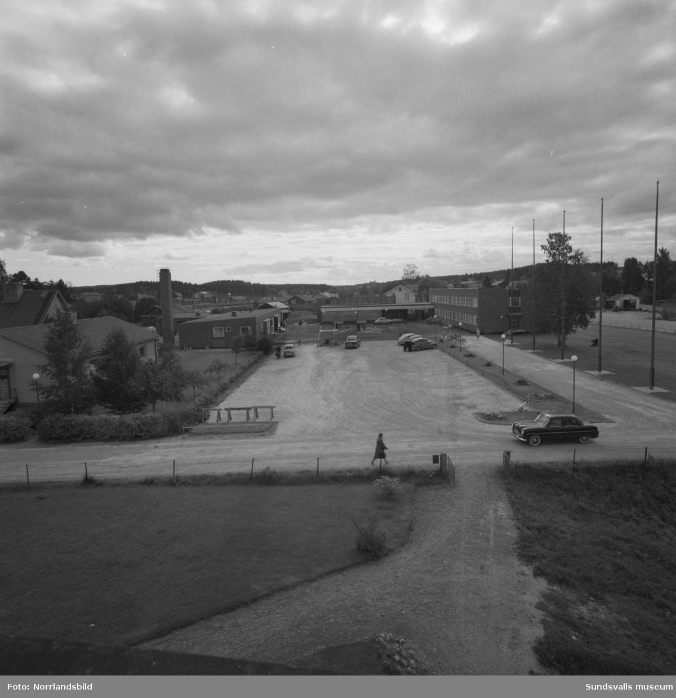 Njurunda landskommuns kommunalhus i Kvissleby.