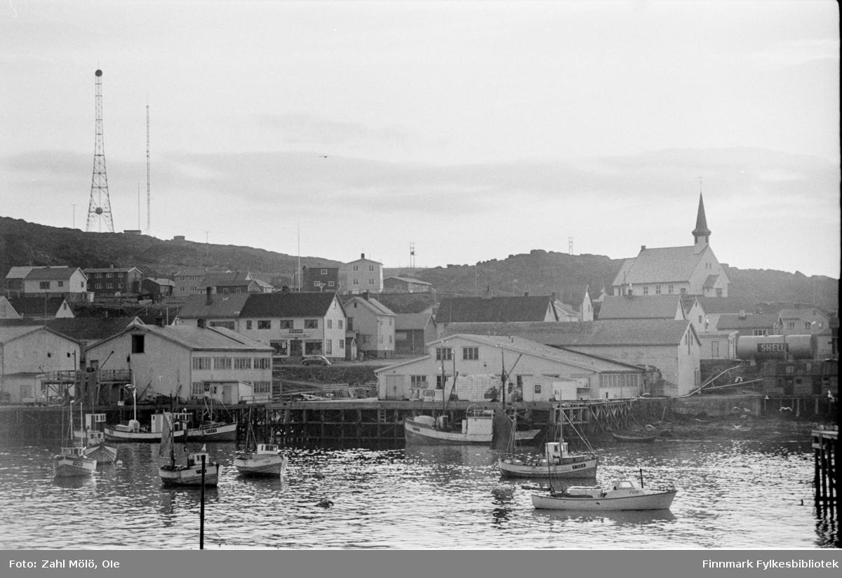 Berlevåg, i juli 1969.