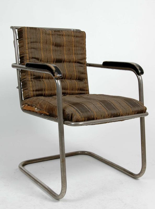 Stålrørsstol, designet av Hermann Munthe-Kaas i 1931.