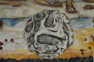 (Detail) Konsensusbilde / Consensus Image Fresco Mural 595 x 1408cm 2013 – 2015  Fotograf: Damian Heinisch (Foto/Photo)