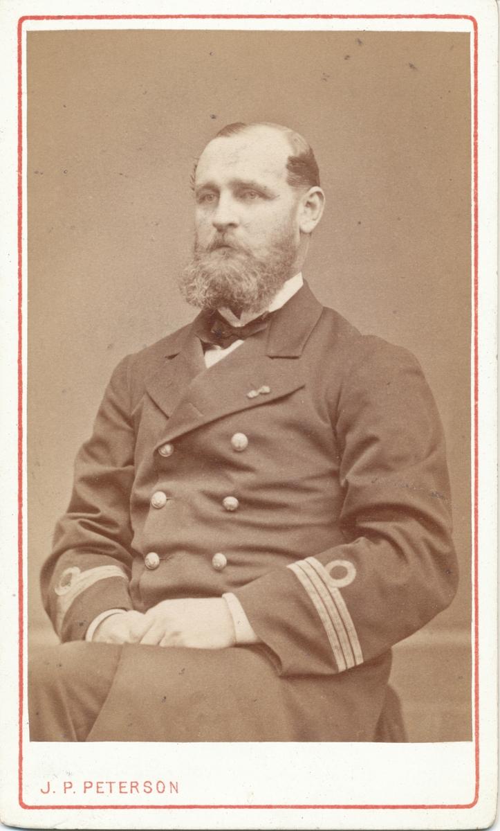 Kapten Leopold von Horn, gift med Adéle Rettig