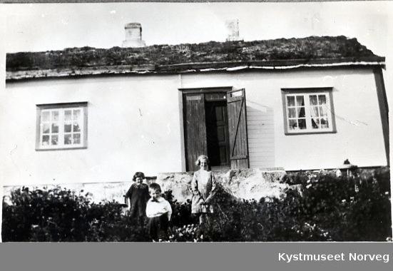 Gunvor, Torbjørn og Edith Haugland