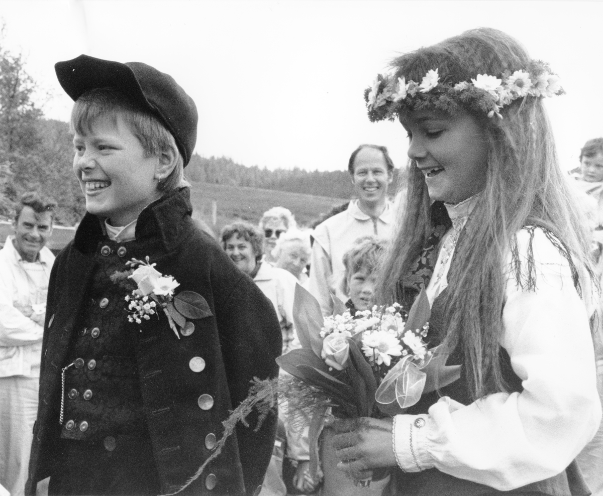Nord-Østerdalsuka 1991. Barnebryllup