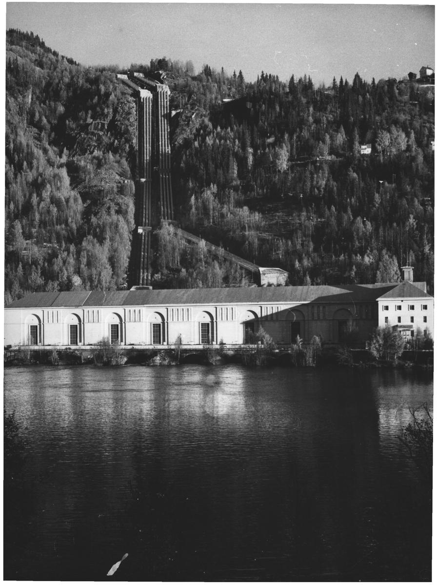 Norekraf. Røberg. Numedal og Hallingdal. Kraftsasjon