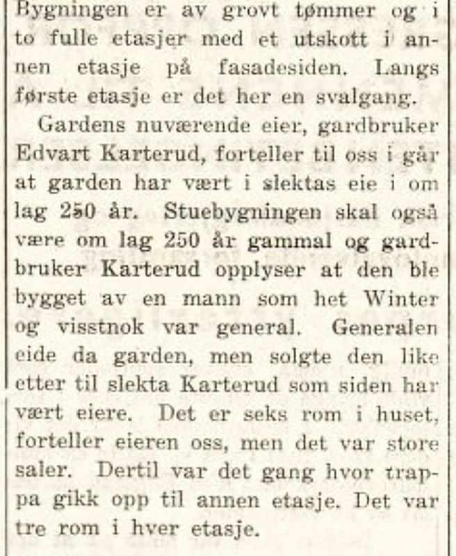 Kongsvinger Arbeiderblad 16. juni 1943.