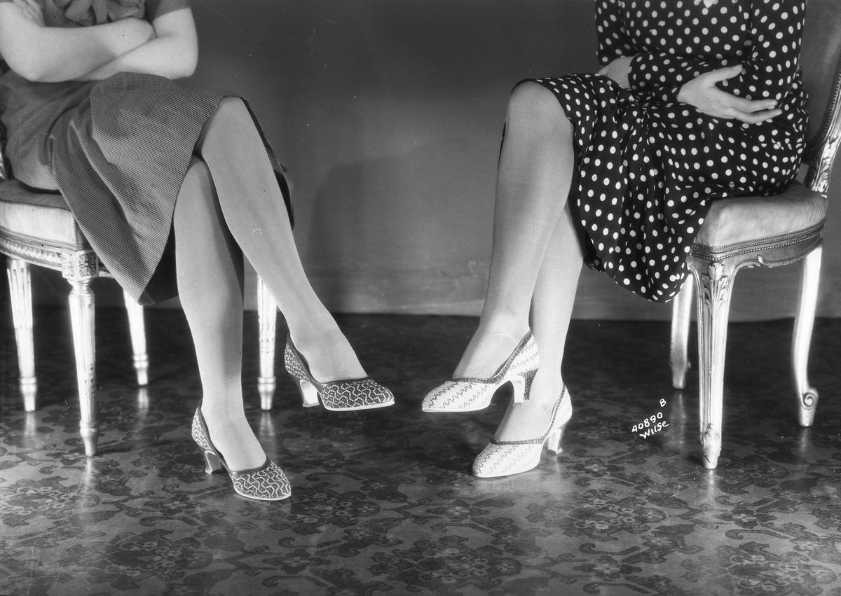 Prot: Askim Gummi  sko paa dameben