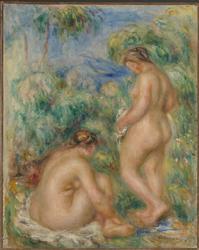 Badende kvinner [Maleri]