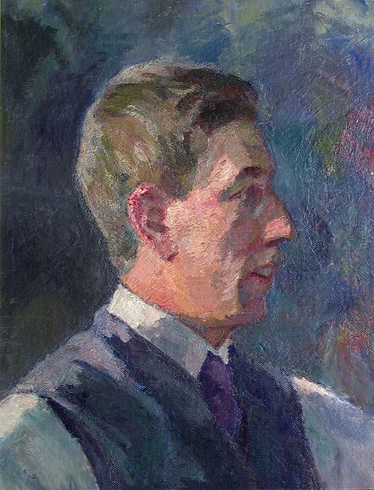 Maleren Henrik Sørensen [Maleri]