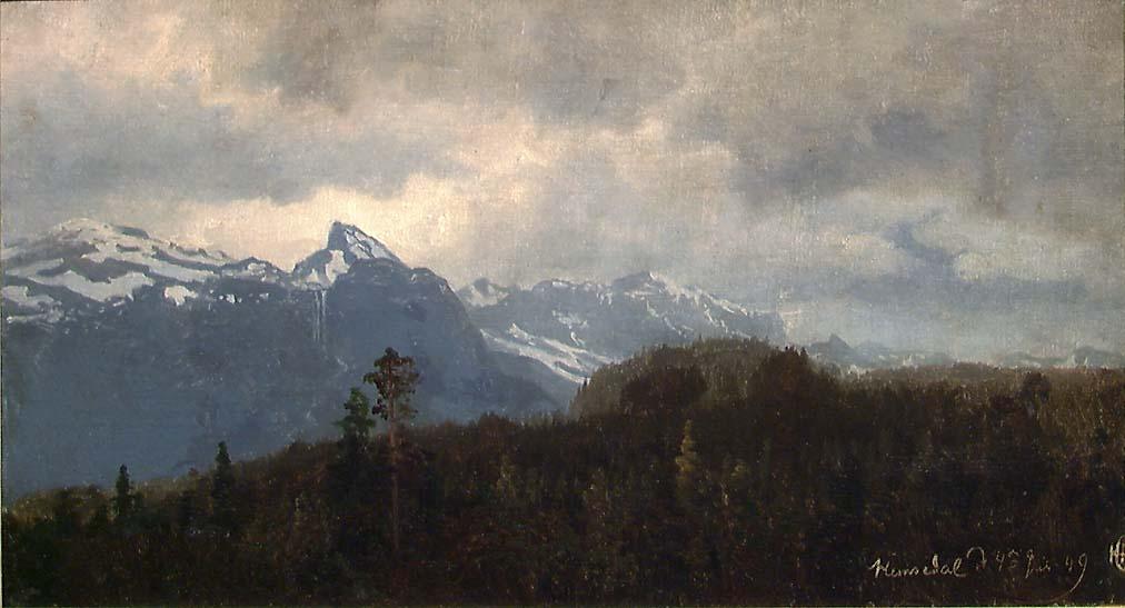 Fra Hemsedal [Maleri]
