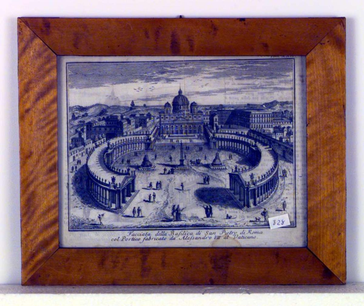Peterskirken og Petersplassen, Roma
