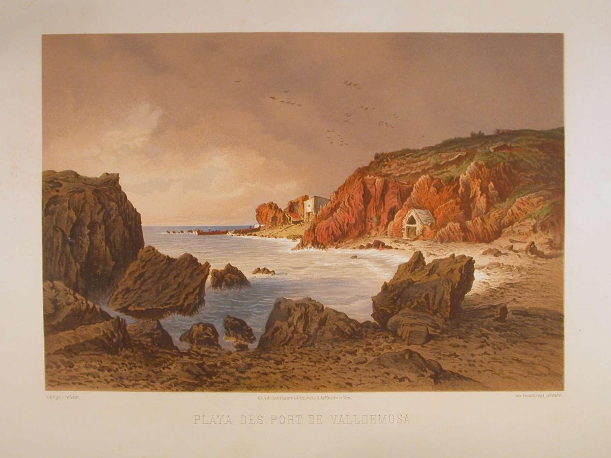 Strand med klipper