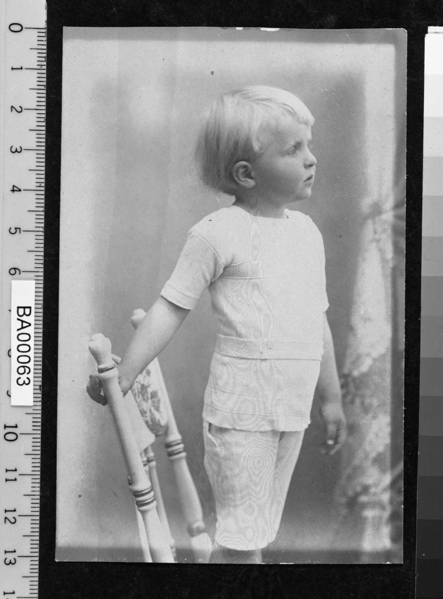 Harald Bjørnson, barneportrett,