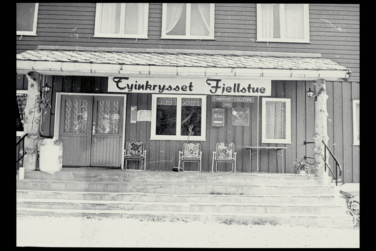 eksteriør, postkontor, 2985 Tyinkrysset Fjellstove, postkasse, postskilt