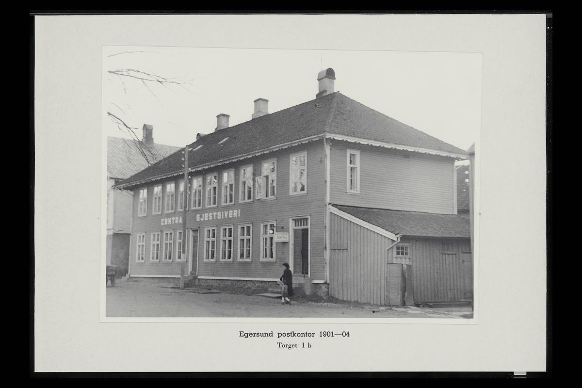 eksteriør, postkontor, 4370 Egersund
