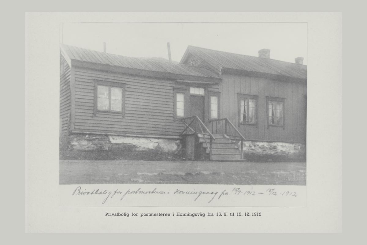 eksteriør, Honningsvåg, privatbolig for postmesteren