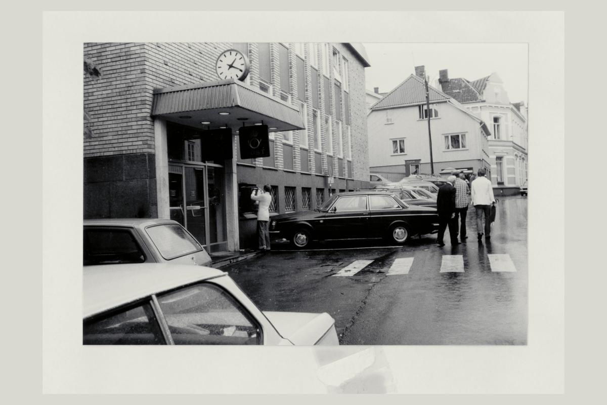 eksteriør, postkontor, 3770 Kragerø, postskilt, postkasse