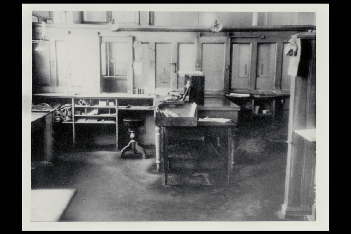 interiør, postkontor, 4604 Kristiandsand S, verdiavdeling