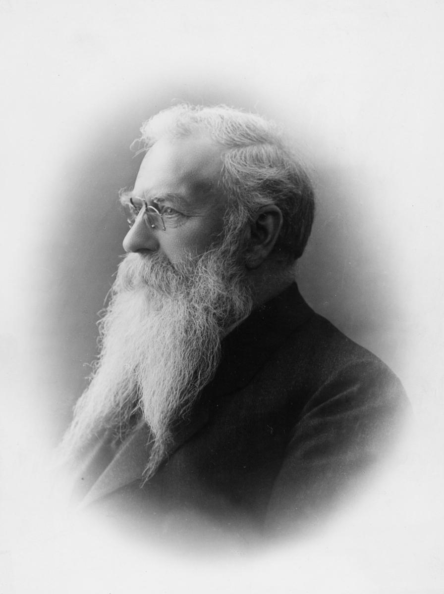 portrett, postmester, Carl Bernt Mehl