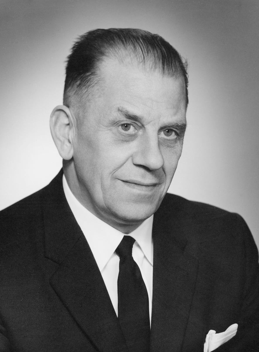 postmester, Nergaard Olaf Georg, portrett