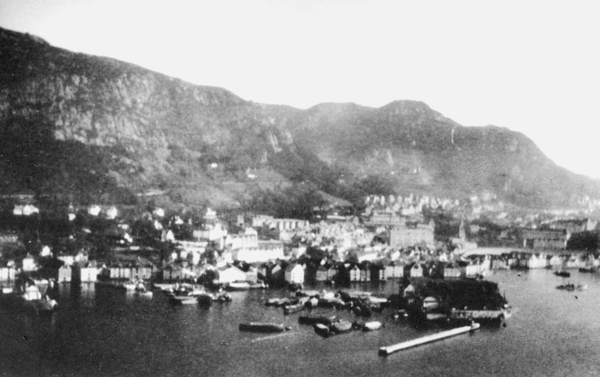 norgesbilde, Bergen, bybilde