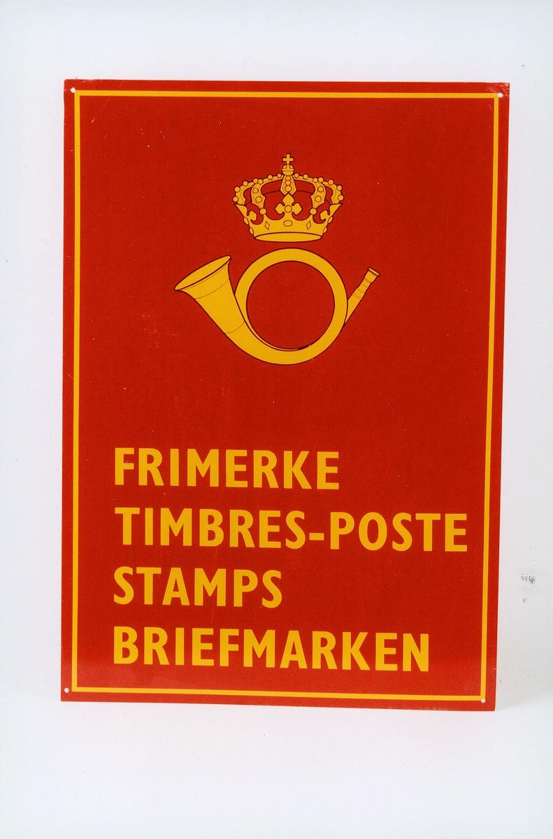 Postmuseet, gjenstander, skilt, opplysningsskilt, frimerke, Timbres-poste, Stamps, Briefmarken, postlogo.