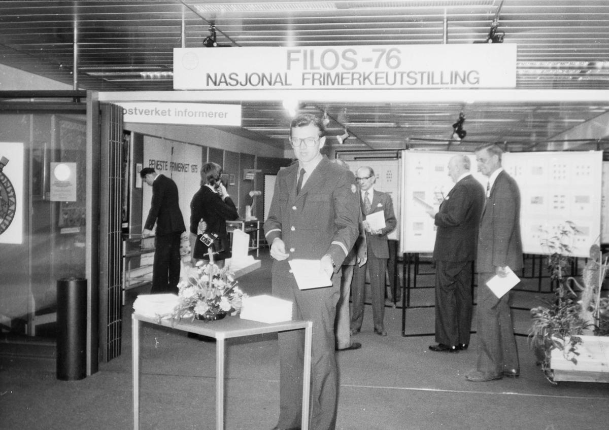 postsparebanken, Magne Karlsen, postuniform, nasjonal frimerkeutstilling, FILOS-76,