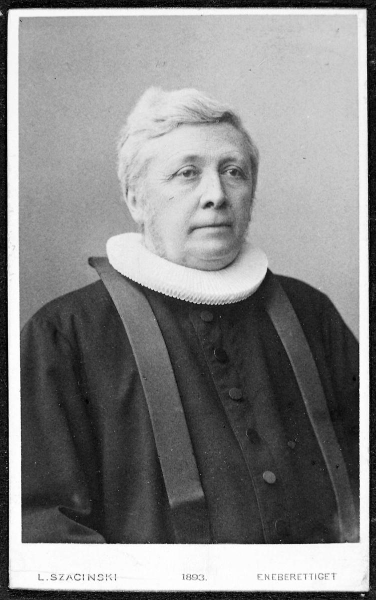 Mann, pastor, portrett