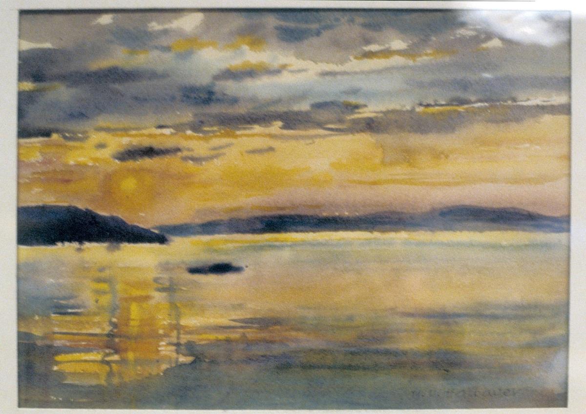 Trondhjemsfjorden [Maleri]