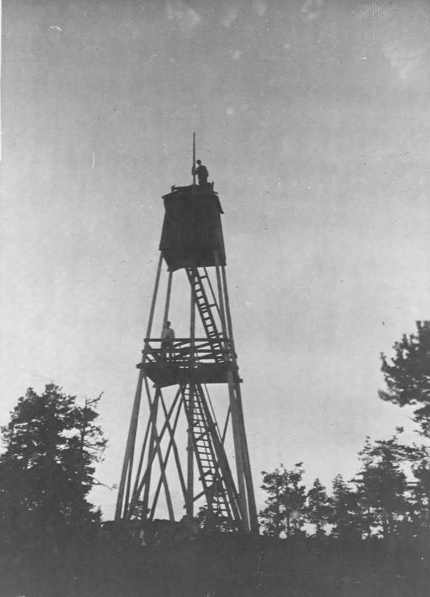 Branntårn. Byseterhøgda i Østmarka